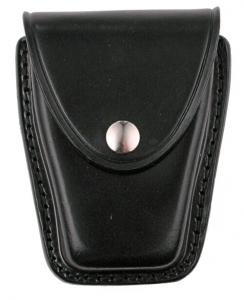 Plain Leather Double Cuff Case