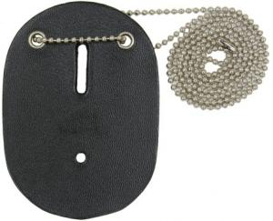 Leather Oval Neck Badge Holder