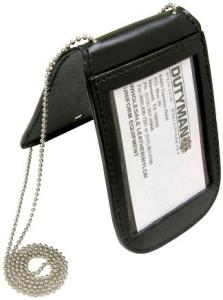 Leather Neck ID And Badge Holder