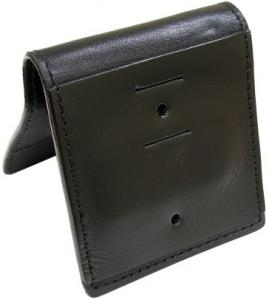 Leather Magnetic Badge Holder