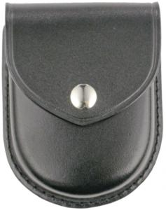 Plain Leather Round Bottom Single Cuff Case