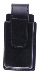Plain Leather Large Cell Phone Holder