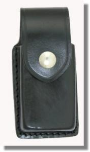 Plain Leather Small Cell Phone Holder