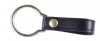 "Plain Leather ""D"" Cell Flashlight Strap With Metal Ring."